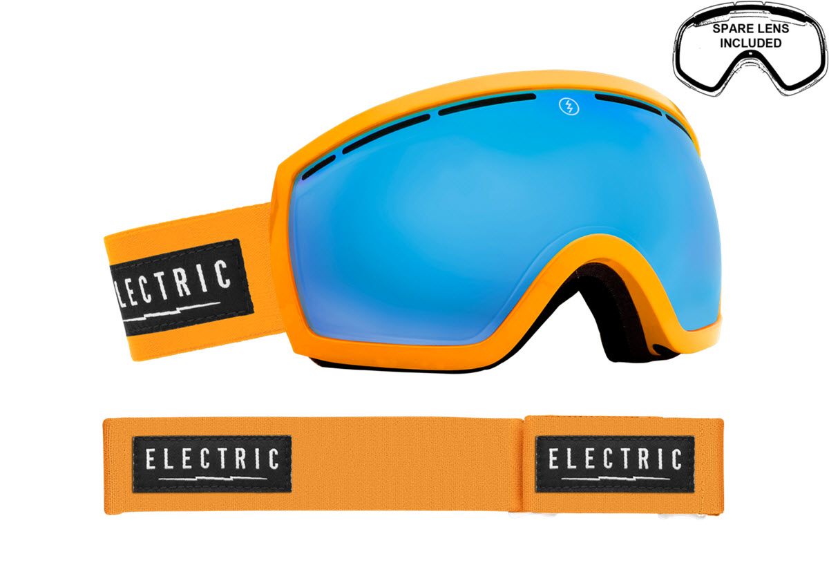 Electric Snowboard Ski Goggles 2015 Including Free Spare