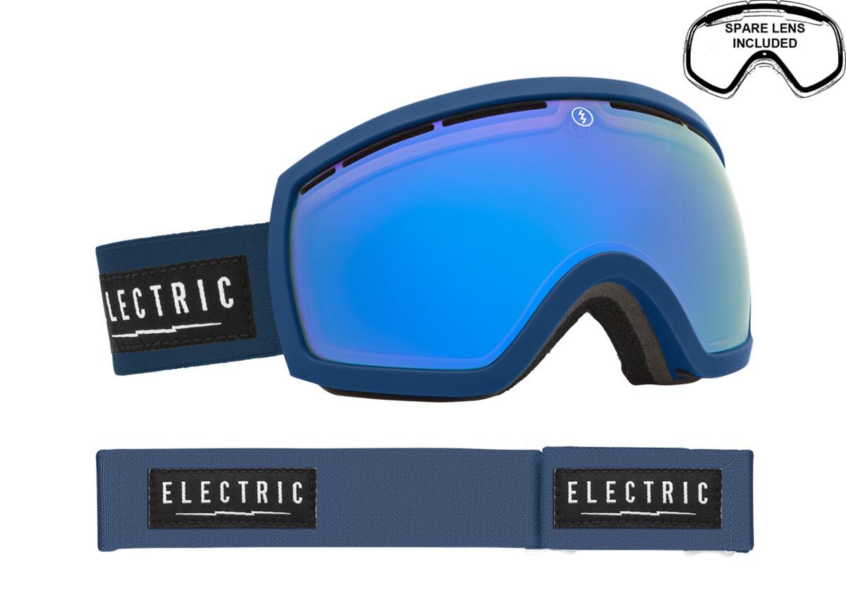 Electric Snowboard Ski Goggles 2015 Including Free Spare