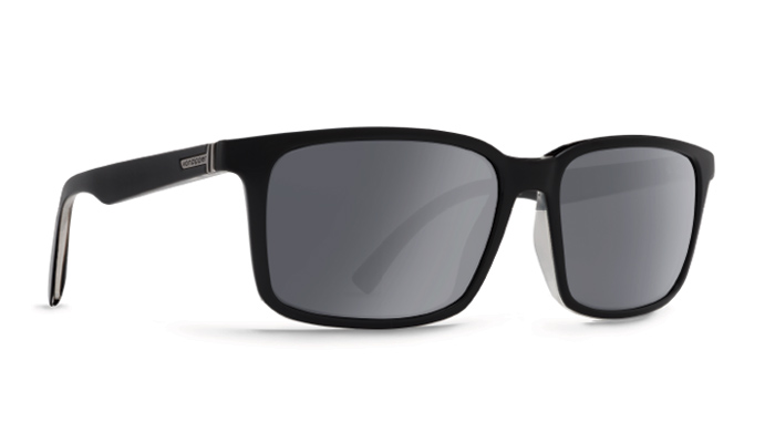 Product image of VonZipper Pinch Sunglasses in Black Satin - Grey Chrome Lens