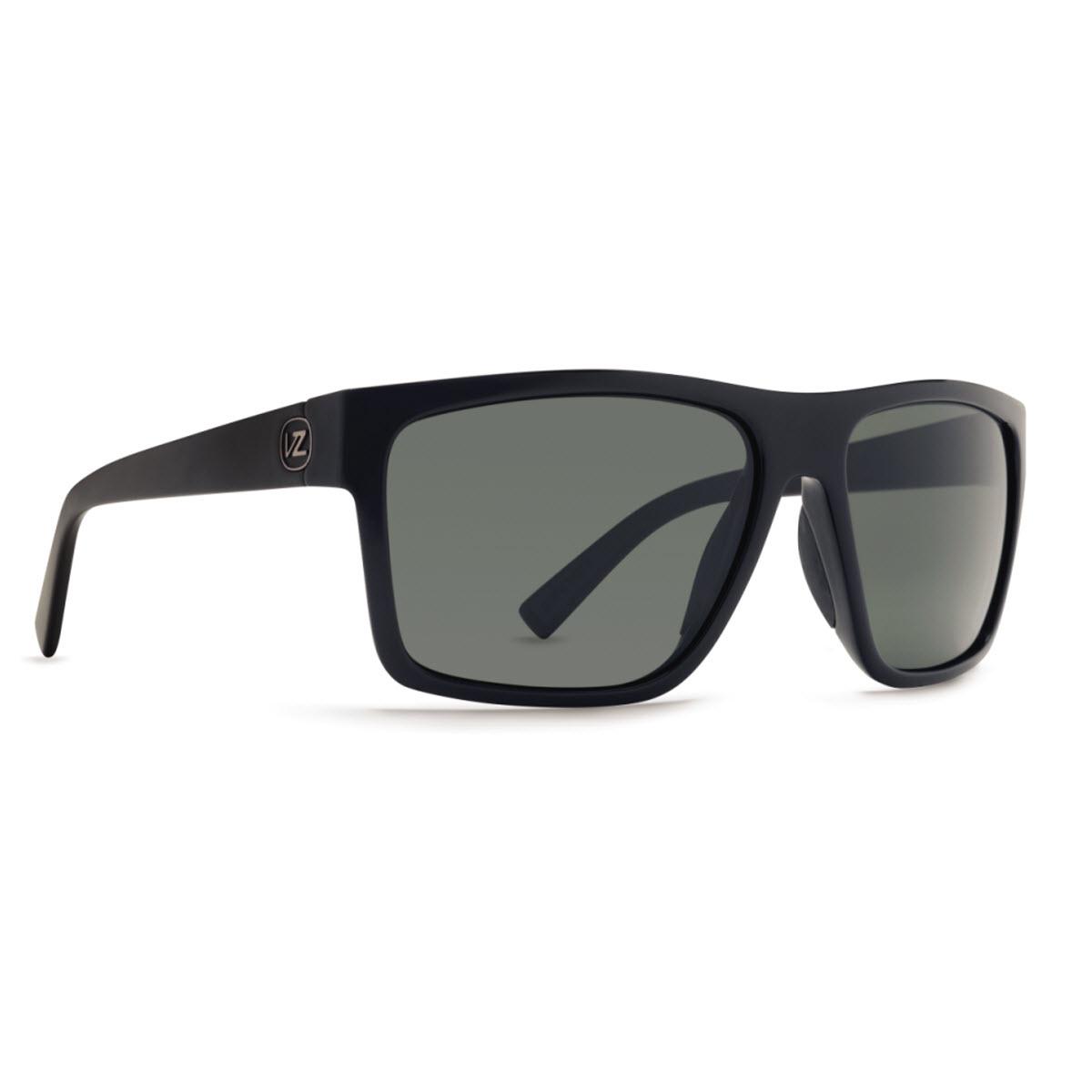 Product image of VonZipper Dipstick Sunglasses in Black Satin - Grey Lens