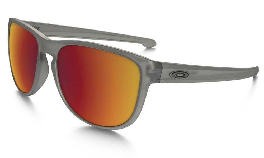 Oakley Sliver R Sunglasses in Grey Ink with Torch Iridium Polarized Lens