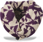 Dakine Ginger Womens Cowl Scarf Turtledove Dark Purple