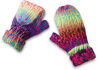 Dakine Womens Flap Mitts One Size Electric