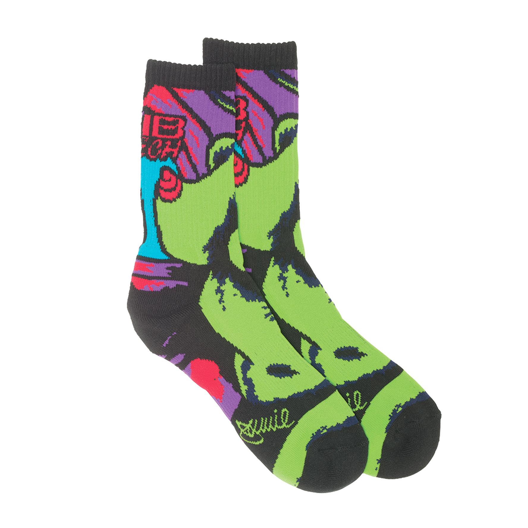 Product image of Lib Tech Green Girl Sock Black Size L