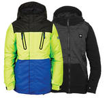 686 Youth Boys Smarty Merge Snowboard Jacket Mantis Medium Age 10/12