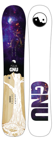 Gnu Mullair Snowboard 2017