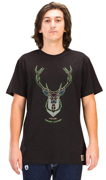 Picture Adventure MC Deer Tshirt Black Large