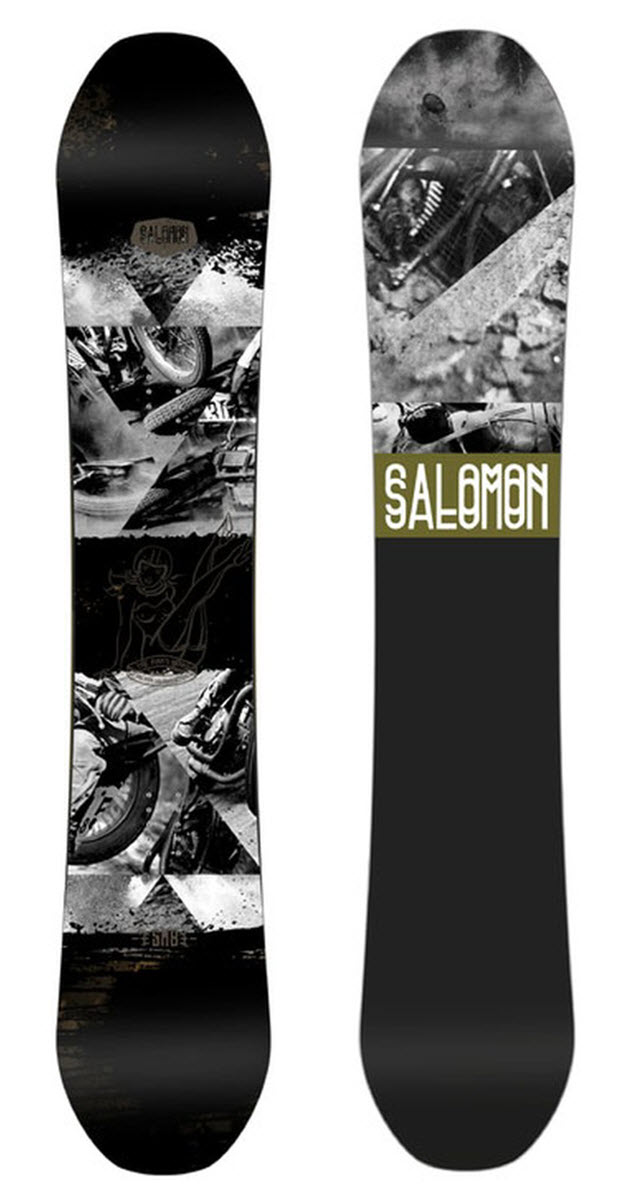 Salomon Man's Board Snowboard review