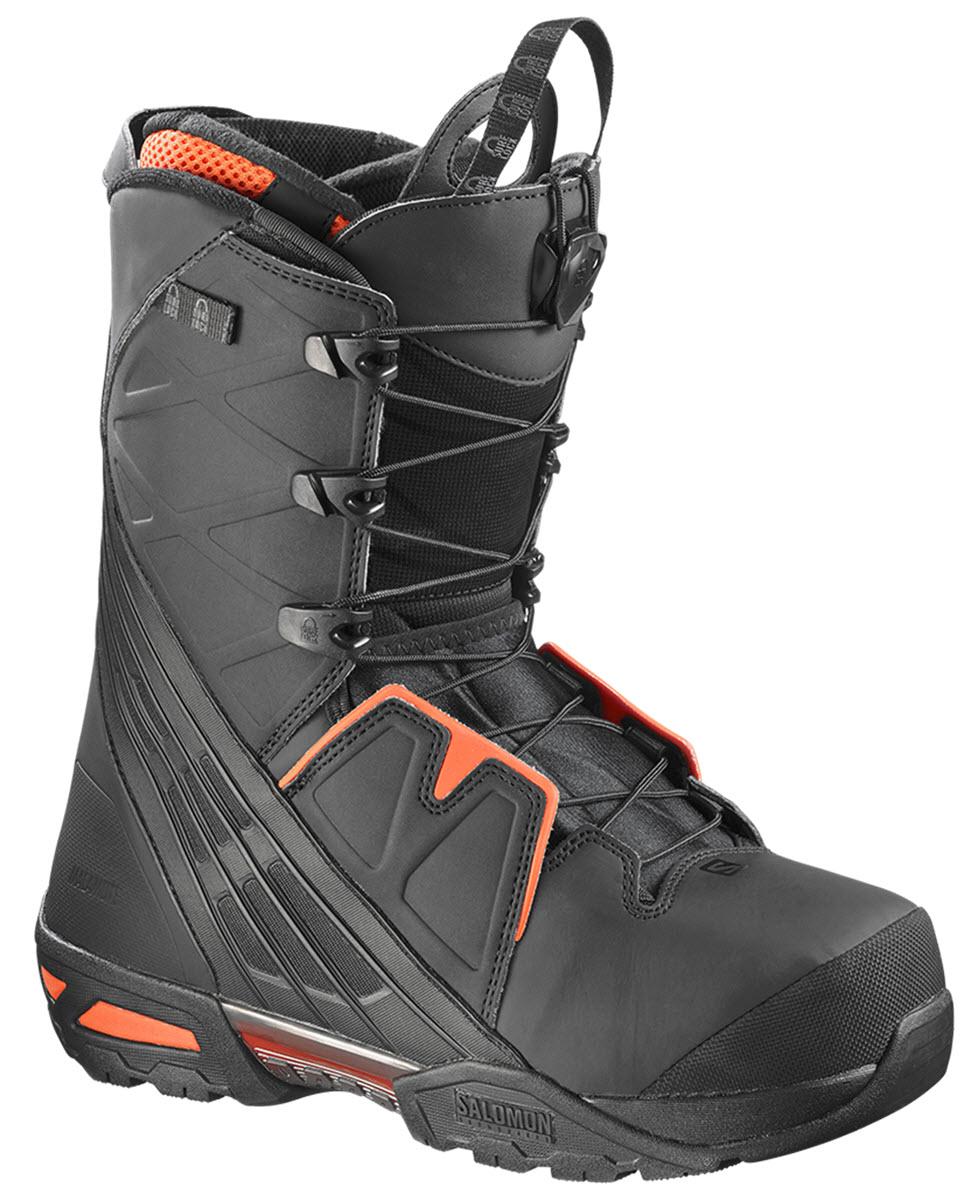Salomon Malamute Snowboard Boots Black Red Black 2017