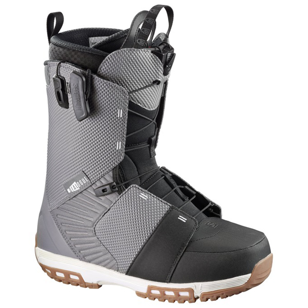 Climbing & Hiking Boots|Snowboard Boots Salomon Dialogue Speed Lace Snowboard Boots 2017 Detroit Black White UK 13.5