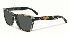 Oakley Frogskins LX Sunglasses in Koston Matte Camo with Dark Grey Lens
