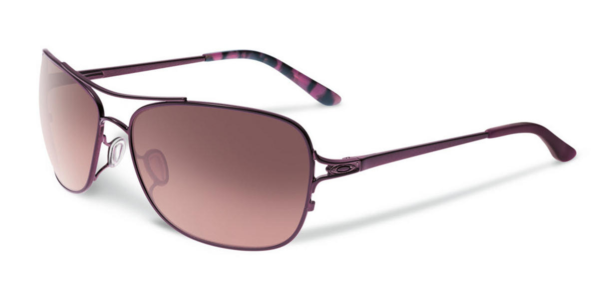 Oakley Womens Conquest Sunglasses Satin Blackberry G40 Black Gradient