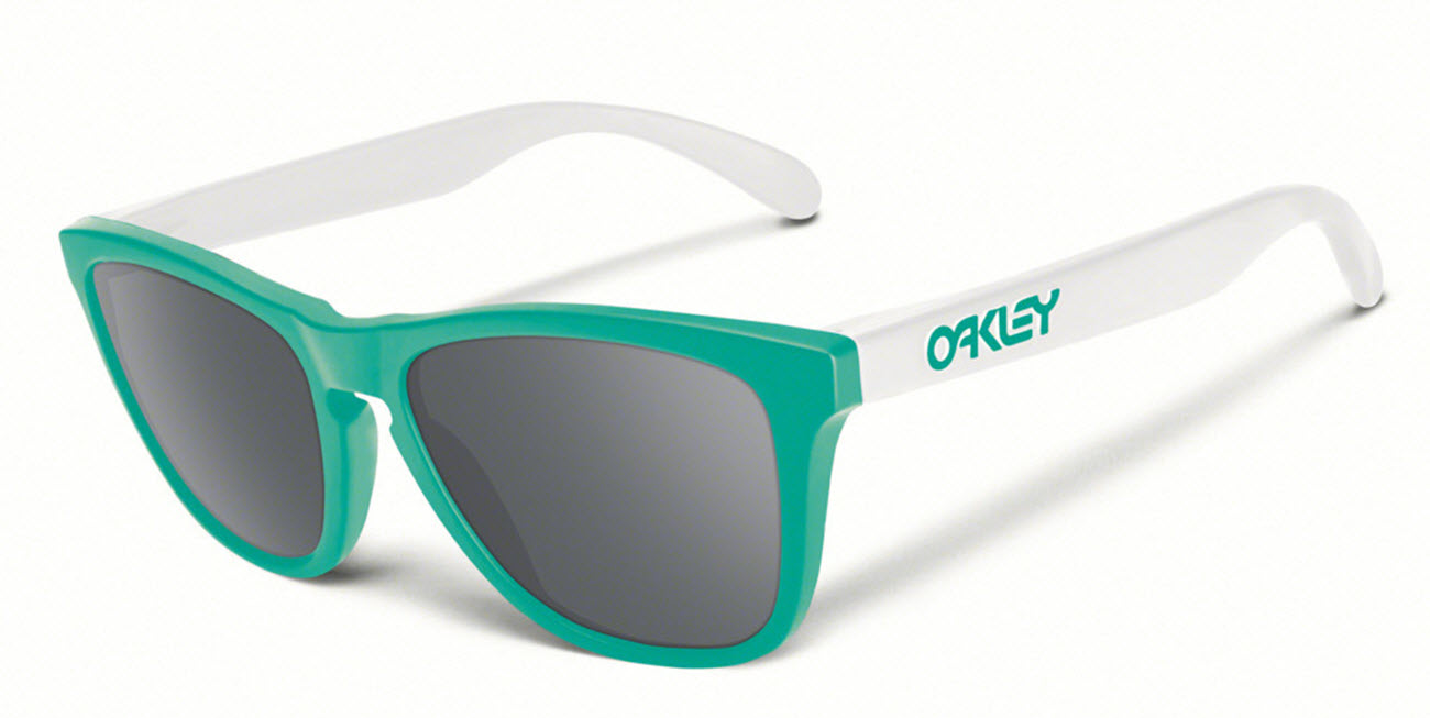 Product image of Oakley Frogskins Sunglasses in Seafoam with Grey Lens