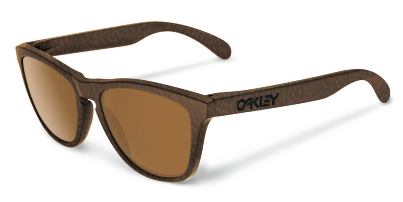 Product image of Oakley Frogskins Sunglasses in Tobacco with Dark Bronze Lens