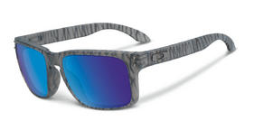 Oakley Holbrook Sunglasses in Urban Jungle Matte Grey Ink with Sapphire Iridium