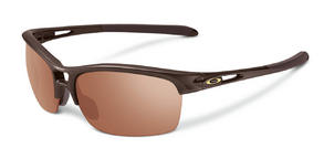 Oakley Womens RPM Squared Sunglasses in Chocolate Sin with VR28 Black Iridium Lens