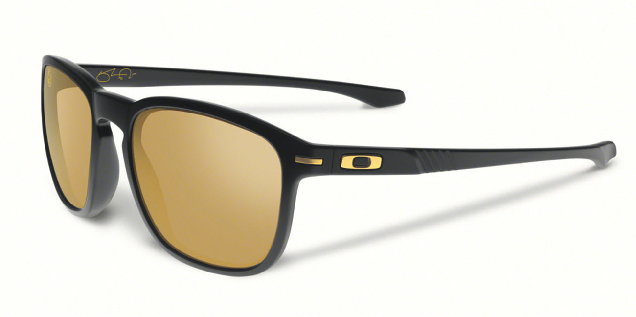 Product image of Oakley Enduro Sunglasses in Shaun White Matte Black with 24K Iridium