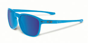 Oakley Enduro Sunglasses in Matte Sky With Sapphire Iridium Lens
