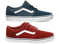 Vans Chapman Stripe Mens Skate Shoes Trainers (Varsity)