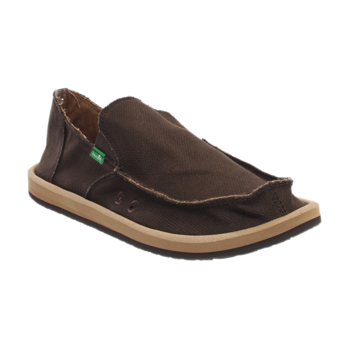 Mens Hemp Slip On Shoes