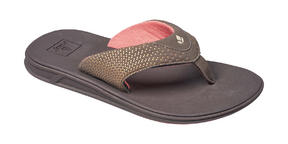 Reef Womens Rover Flip Flops 2017 Brown Coral