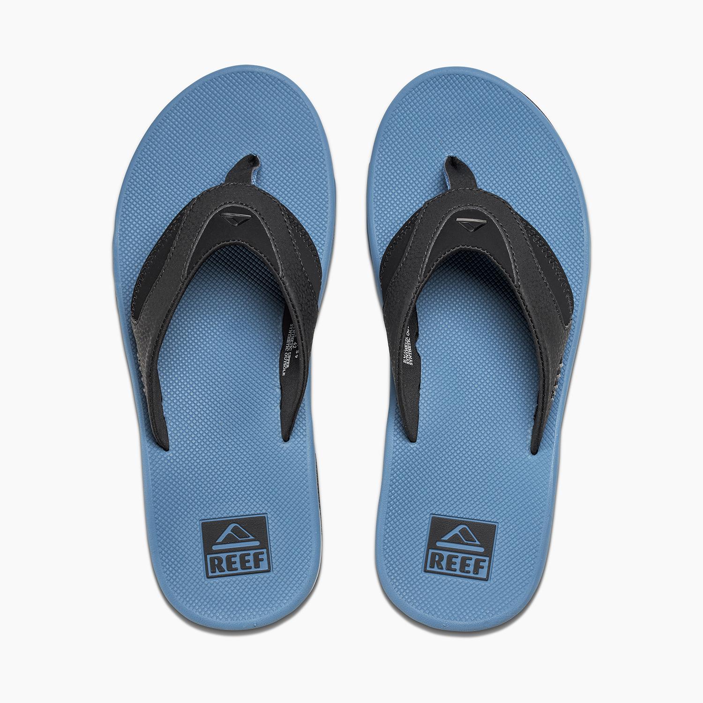 reef sandal fanning flip flops mick cushioned bottle opener pro model ebay. Black Bedroom Furniture Sets. Home Design Ideas