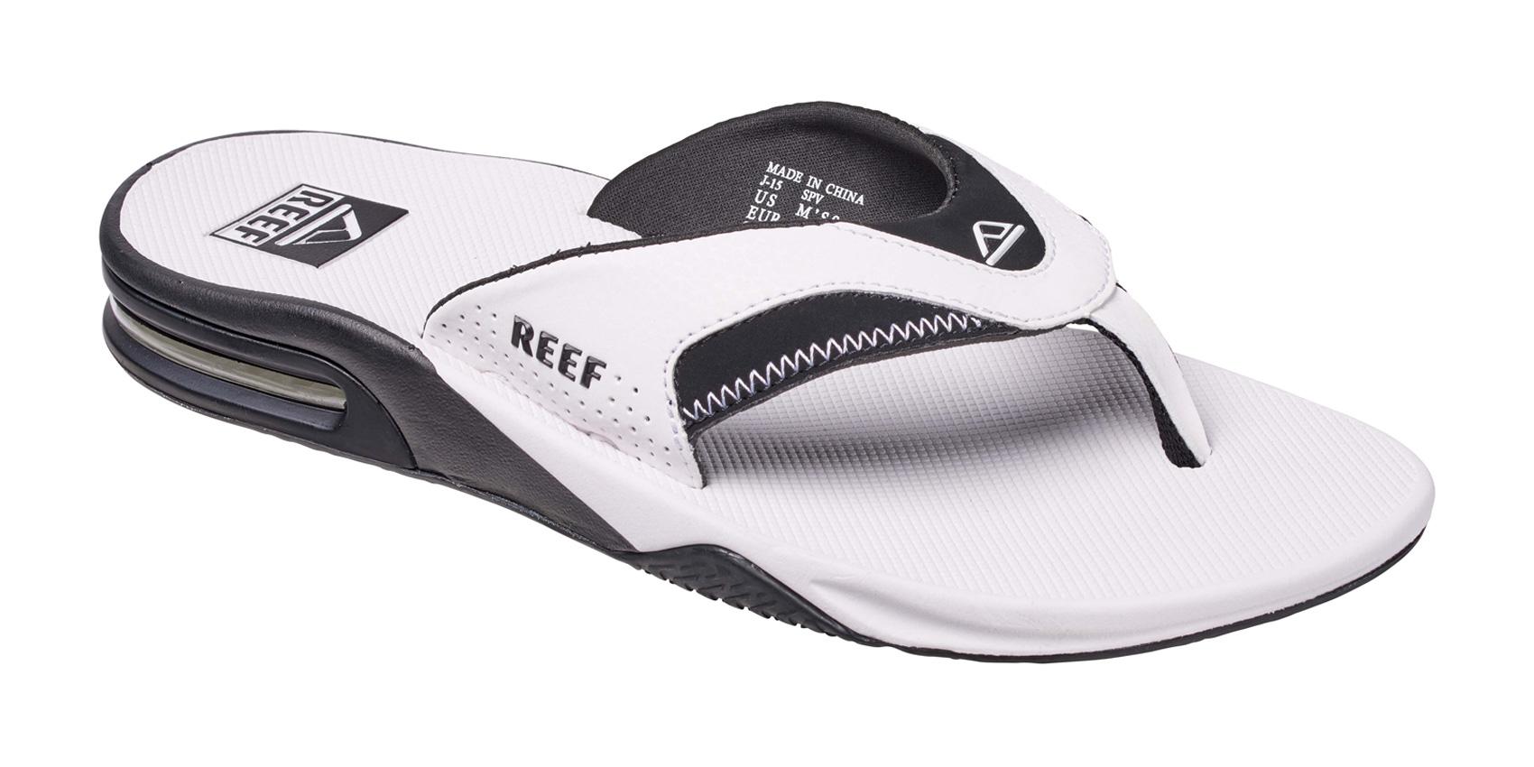 Reef-SANDALE-FANNING-tongs-Mick-matelasse-ouvre-bouteille-Pro-Model