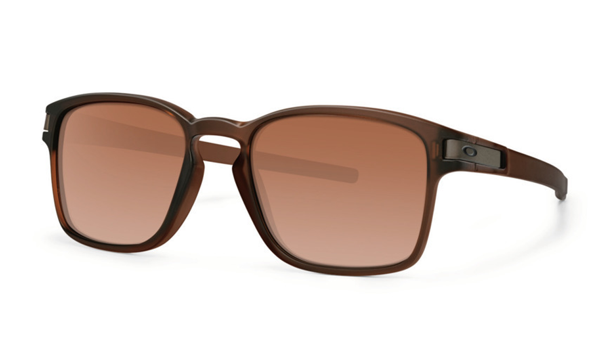 Product image of Oakley Latch SQ Sunglasses Matte Rootbeer with Dark Brown Gradient Lens