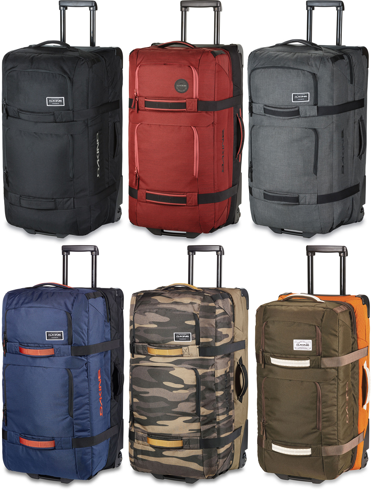 Dakine Split Roller 110L Luggage Bag 2018