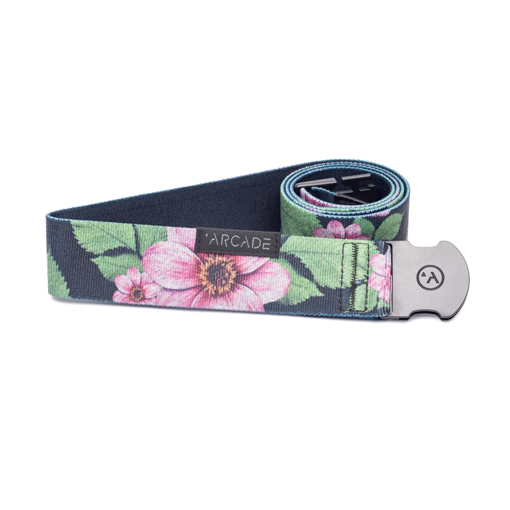 Product image of Arcade Belts 2017 Biscayne Black Green Pink