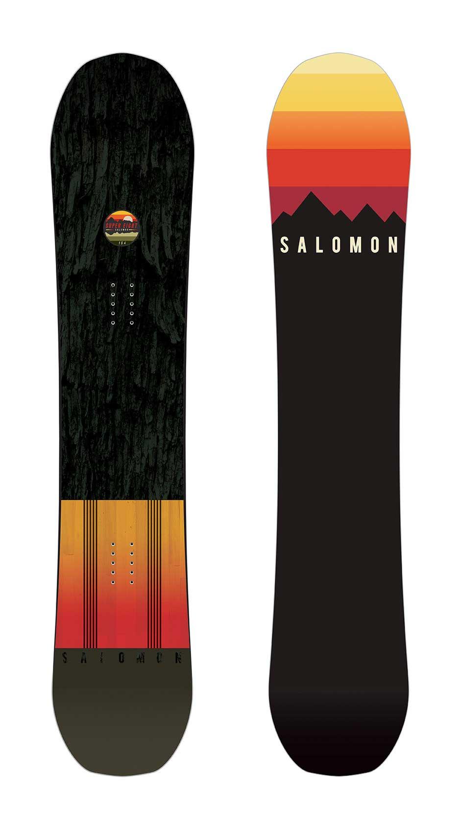 Salomon Super 8 Snowboard review