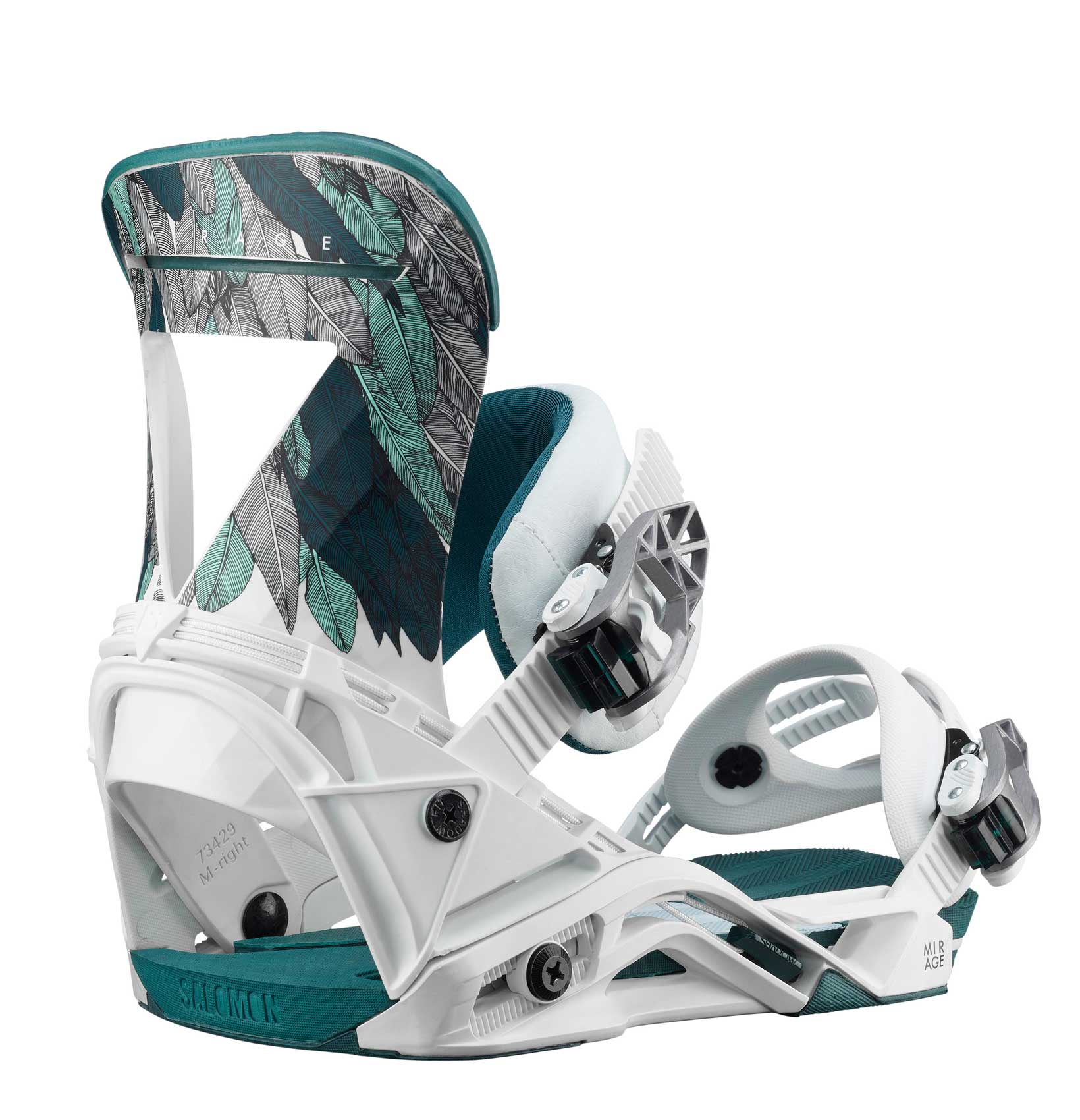 Salomon Mirage Womens Snowboard Bindings review