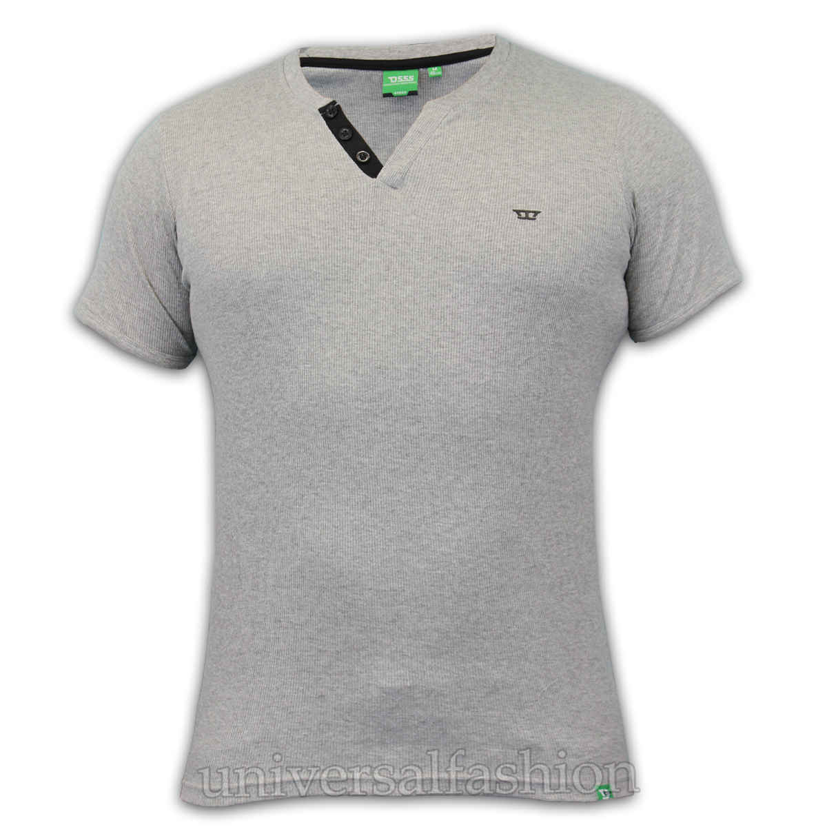 Mens ribbed jersey t shirts by d555 ebay for Mens ribbed t shirts