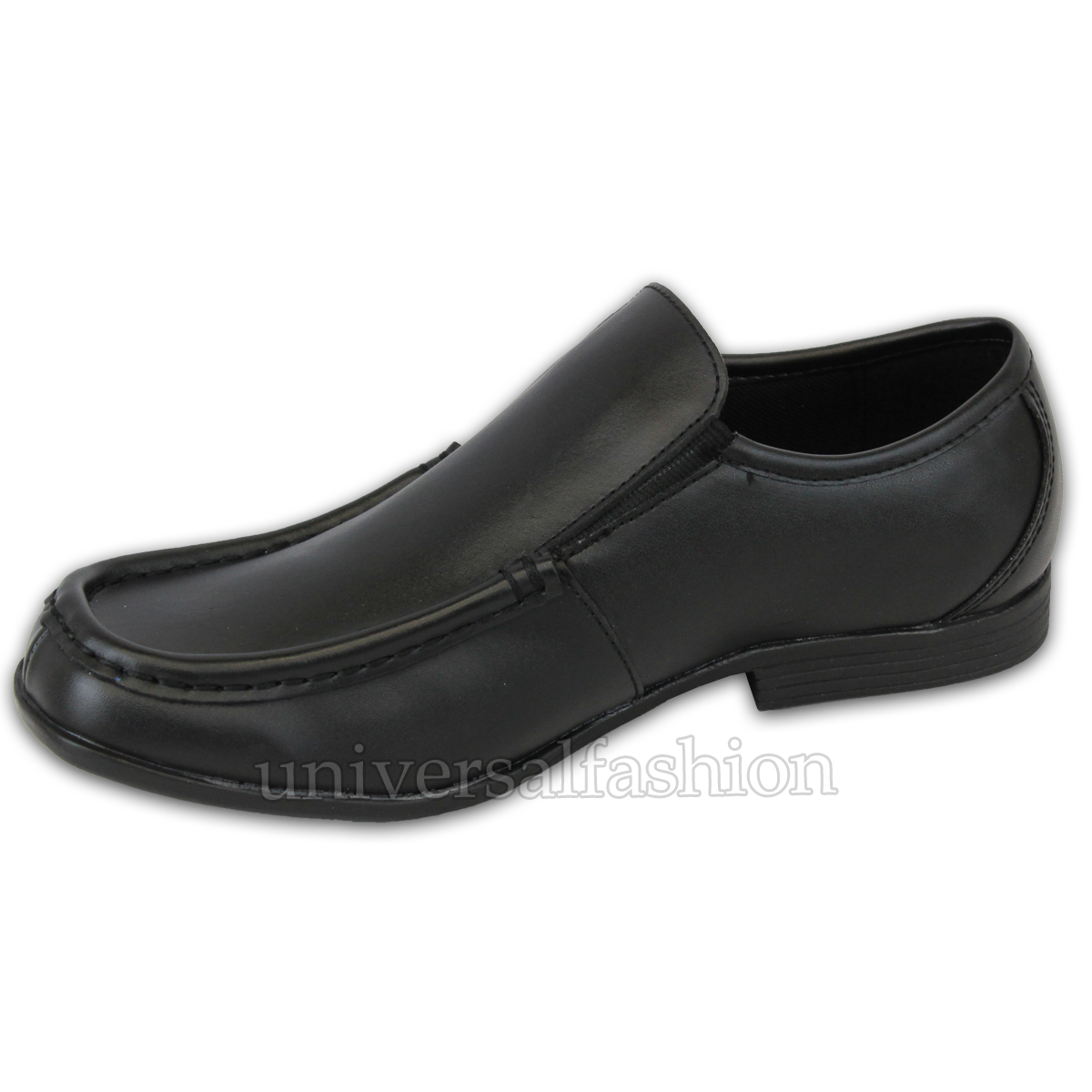 Boys Formal Shoes GOLA Kids School Youth Leather Look Slip On Wedding Smart New