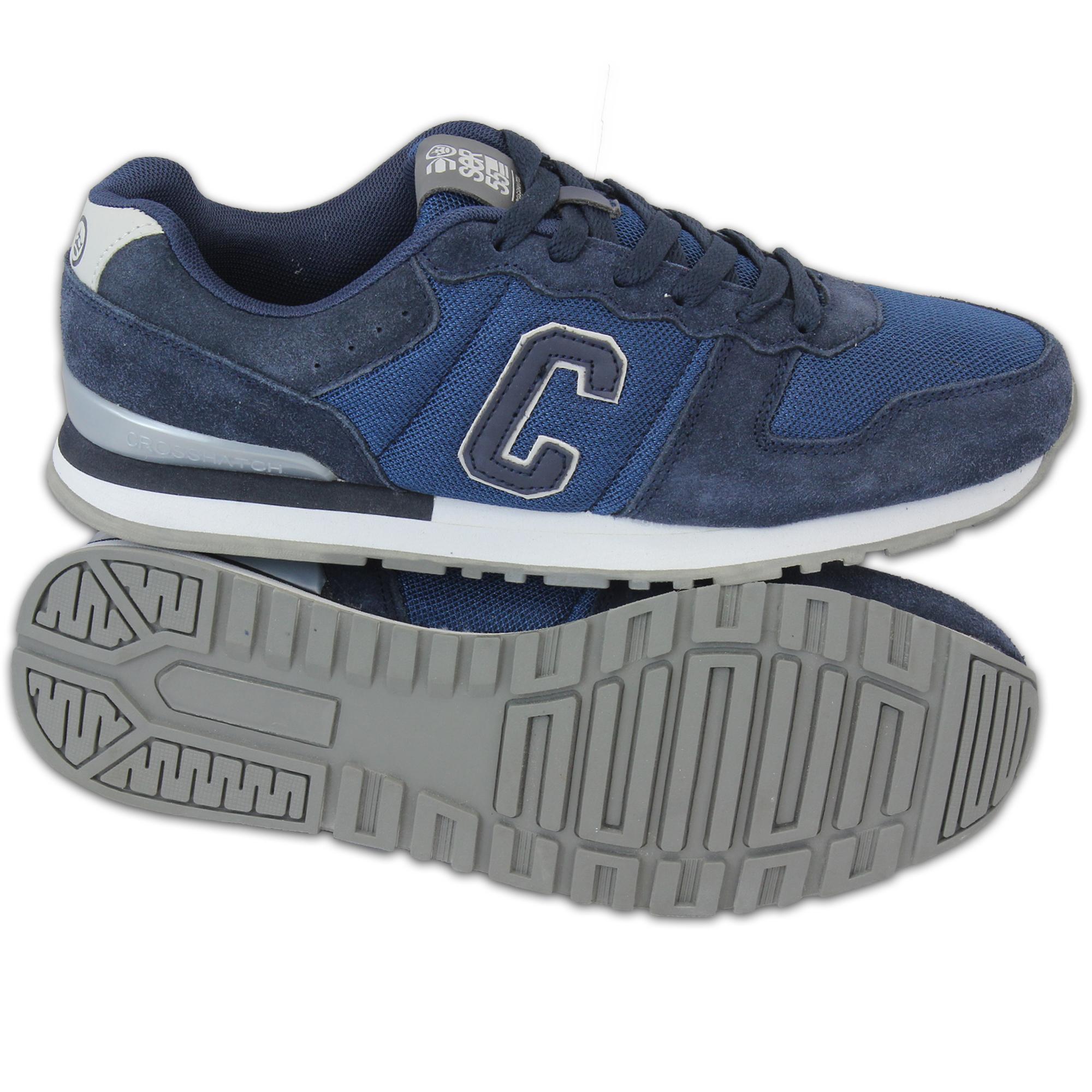 Crosshatch Shoes Black Label