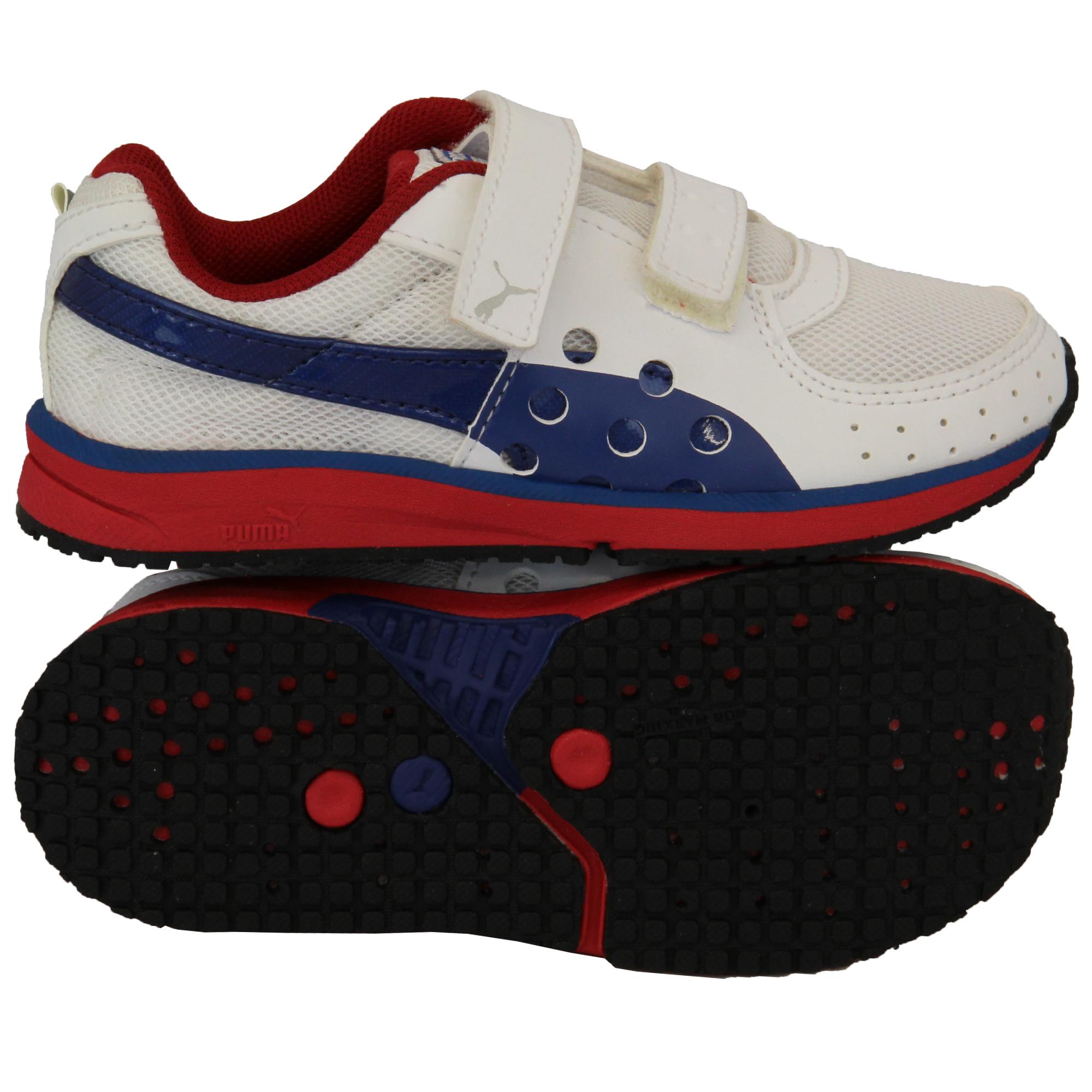 Boys PUMA Trainers Kids Suede Leather Shoes Infants ...
