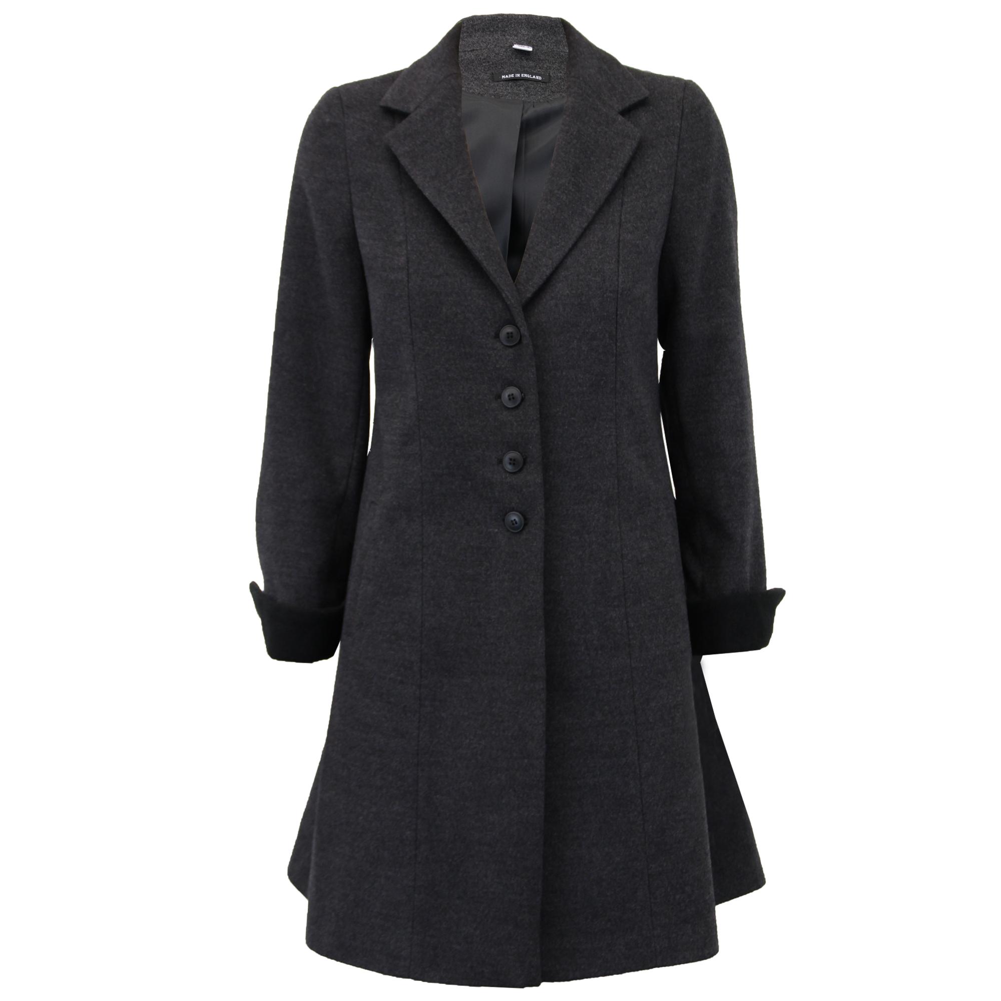 Women long wool coat