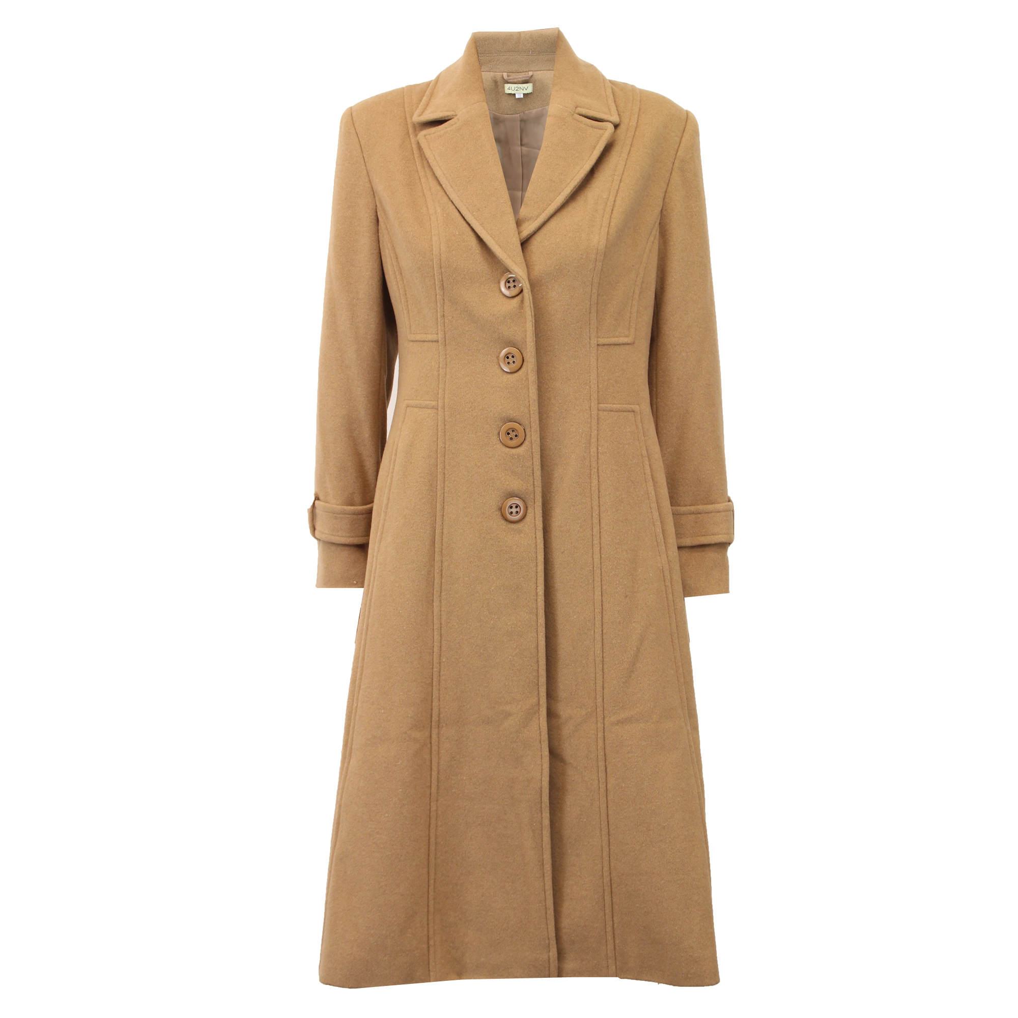 Ladies Wool Cashmere Coat Womens Jacket Outerwear Trench