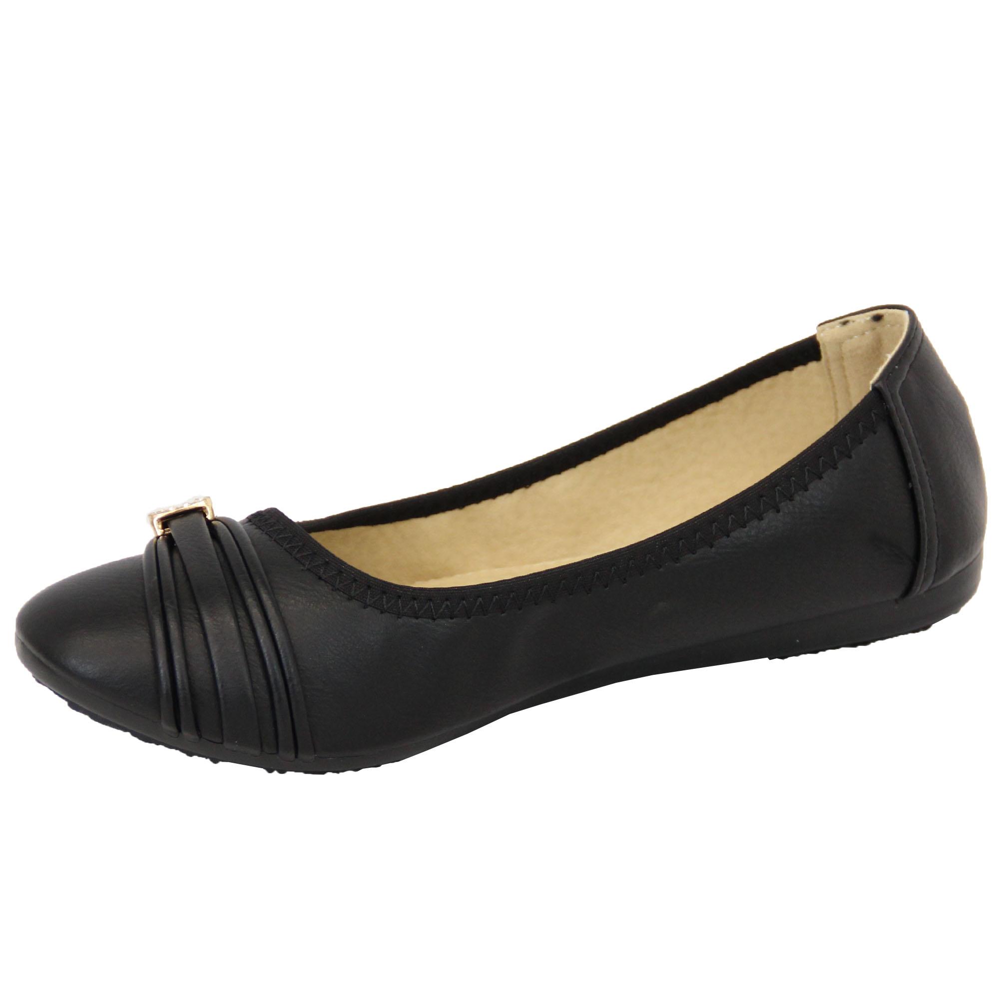 m dchen ballerina schuhe kinder flache pumps lack slipper. Black Bedroom Furniture Sets. Home Design Ideas