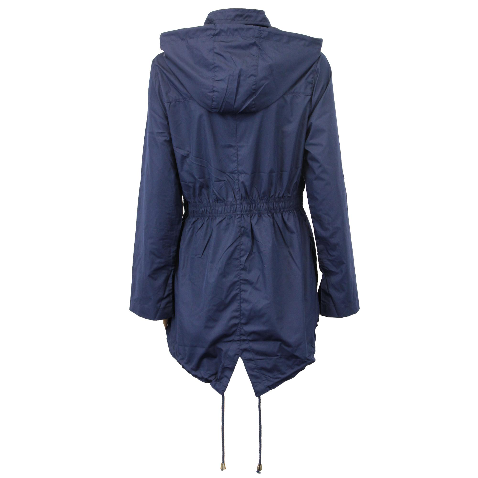 ladies jacket brave soul womens coat hooded fish tail. Black Bedroom Furniture Sets. Home Design Ideas