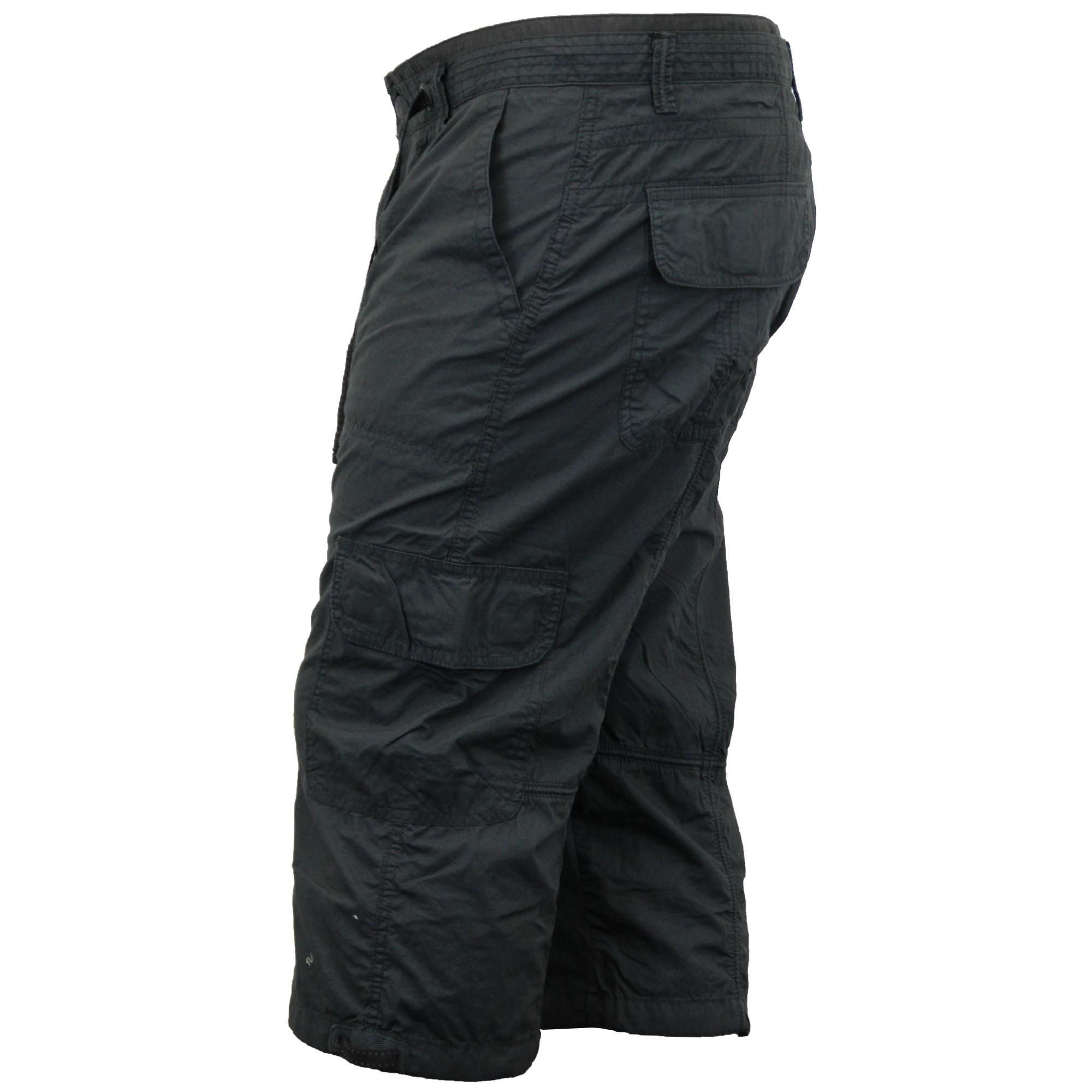 Brilliant Men39s Cargo Printed Three Quarter Pant  White