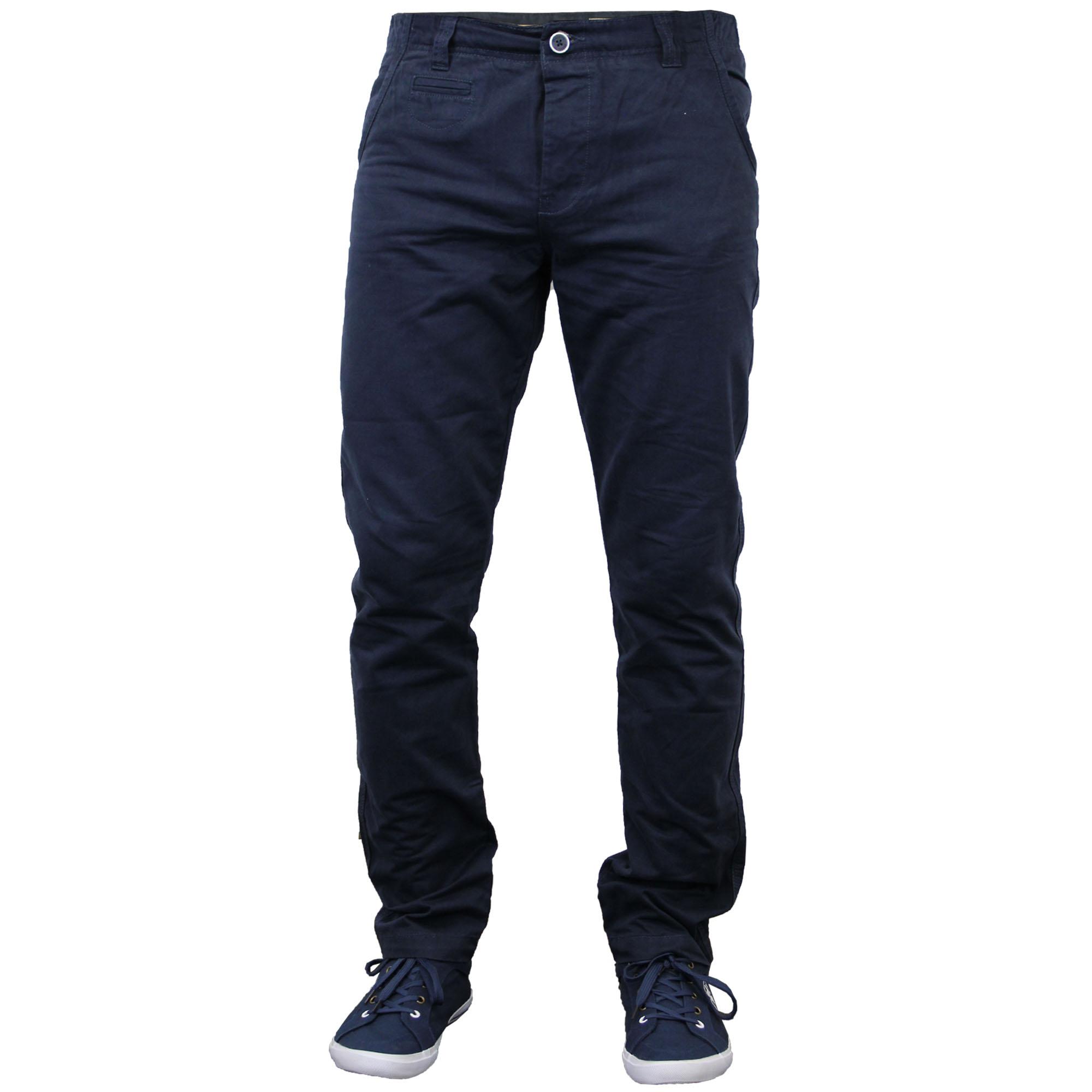 pantalon chino jeans homme coupe droite obligations stallion pantalon bottoms slim nouveau ebay. Black Bedroom Furniture Sets. Home Design Ideas