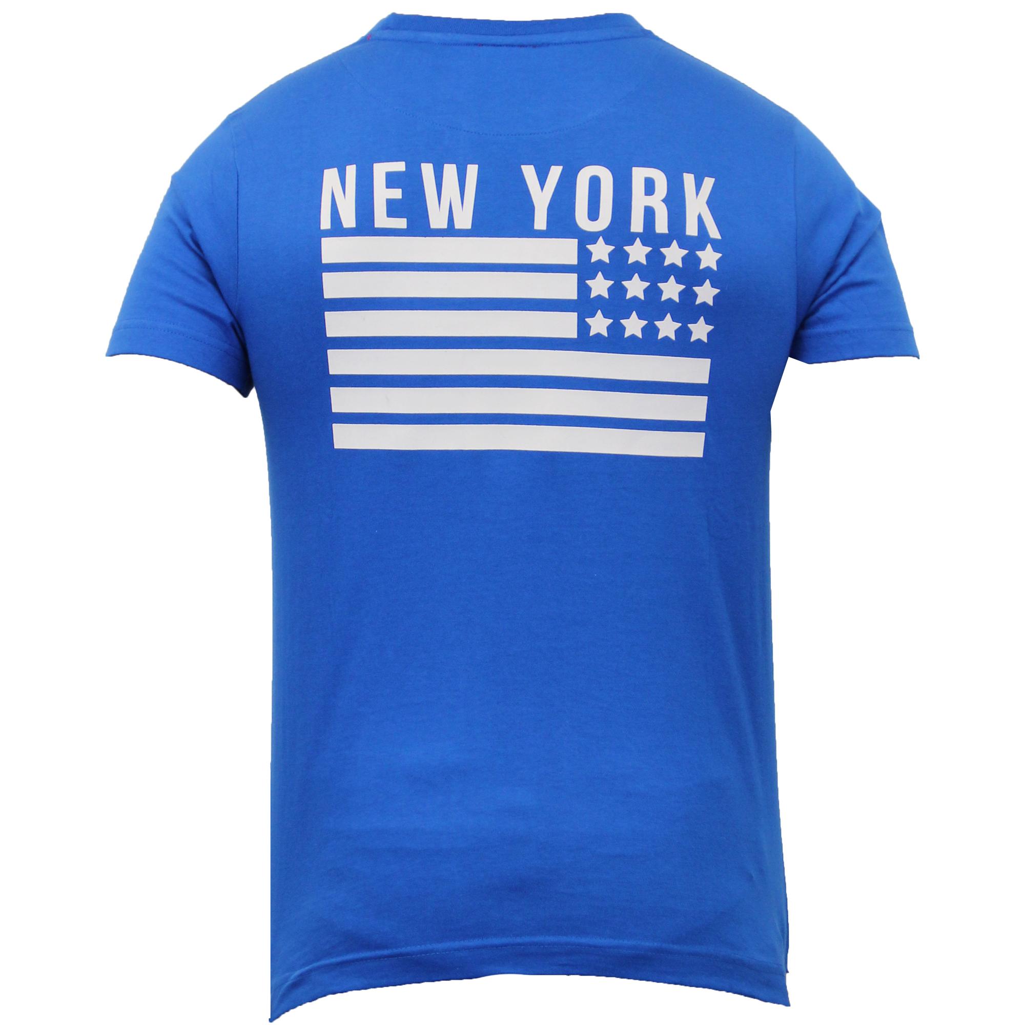 RAGAZZI T Shirt Joe Bloggs Kids a maniche corte Top Mesh BROOKLYN NYC Casual Estate