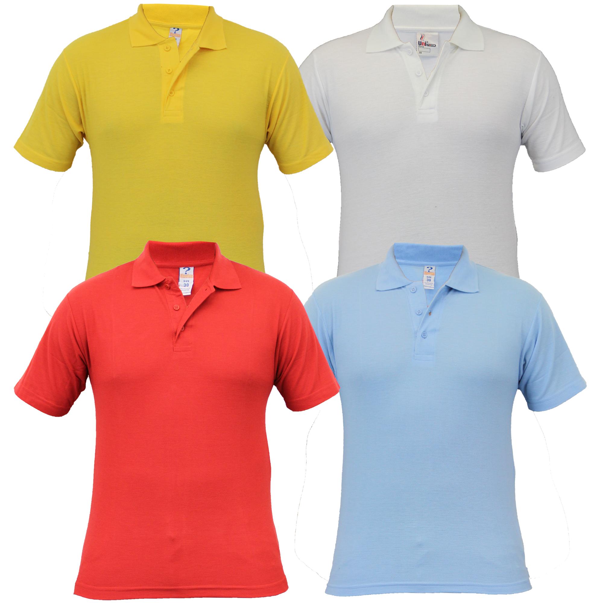 boys 2 pack polo t shirts school uniform pique kids