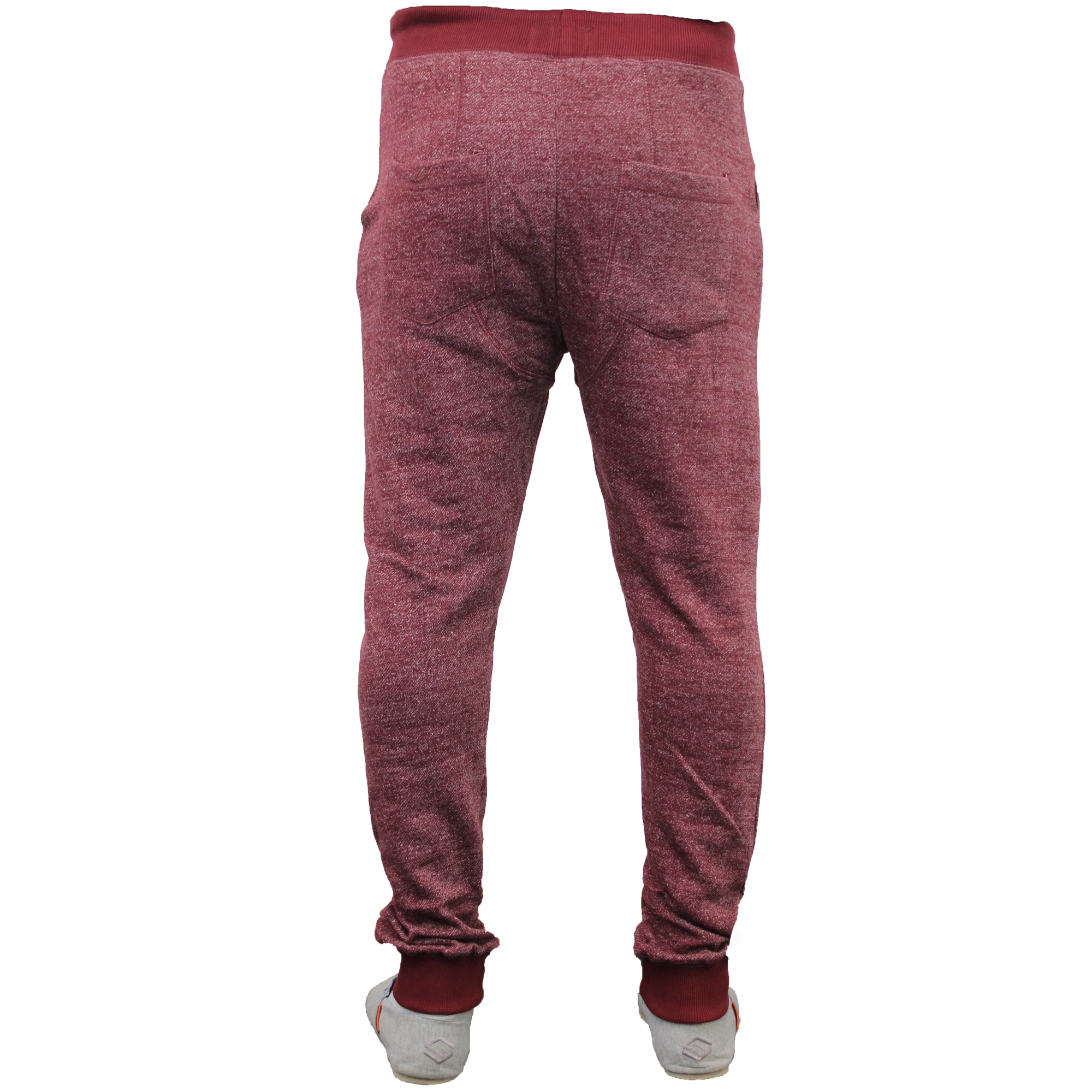 Mens Bottoms Soul Star Trousers Pants Jogging Drop Crotch Slim Fit Marl Running
