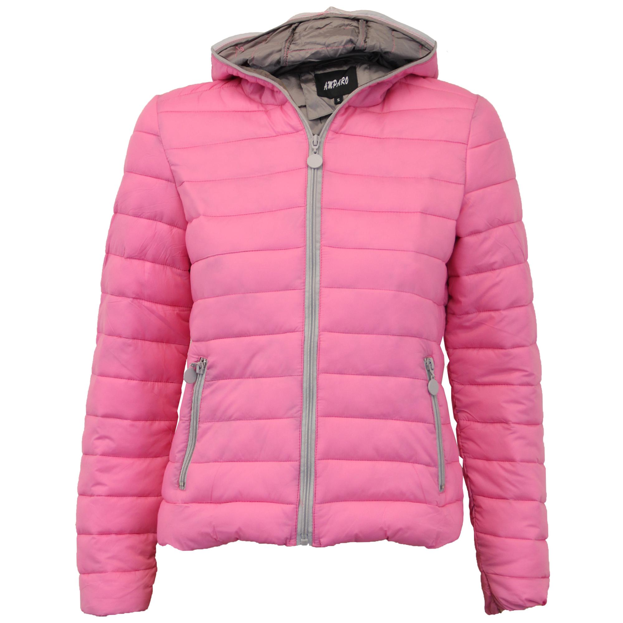Hooded winter coats women