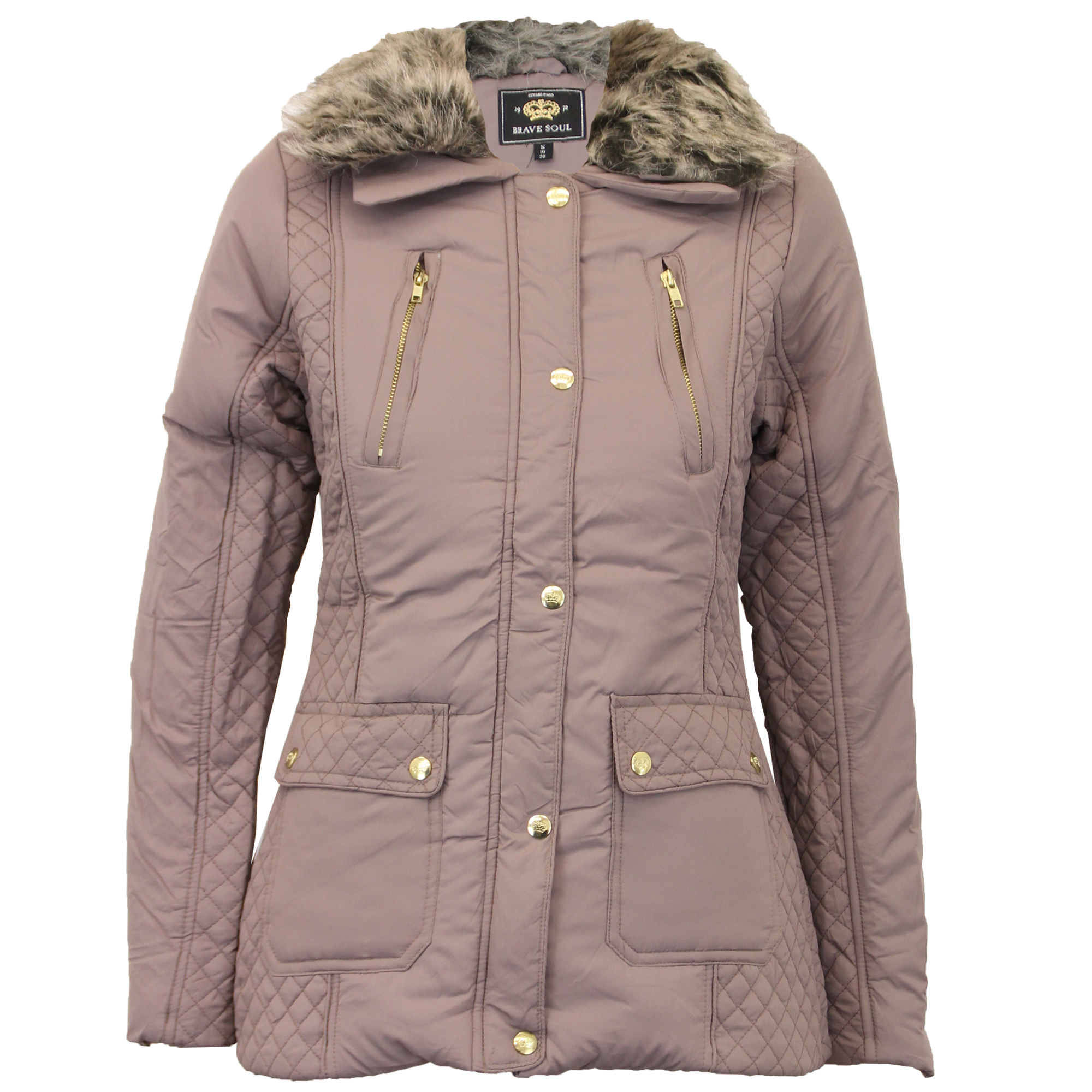 Fur lined coats for women
