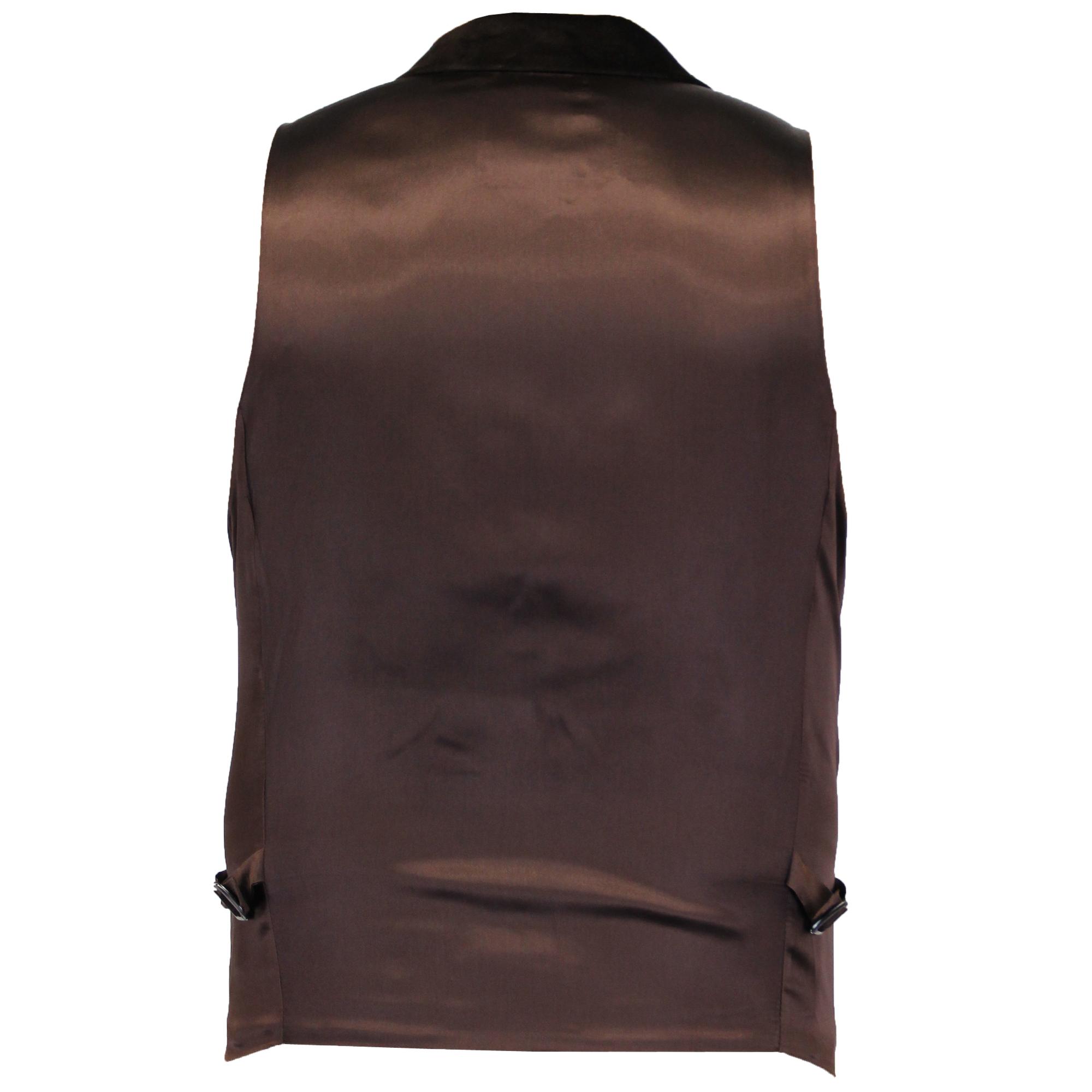 Mens Herringbone Tweed Waistcoats By Cavani