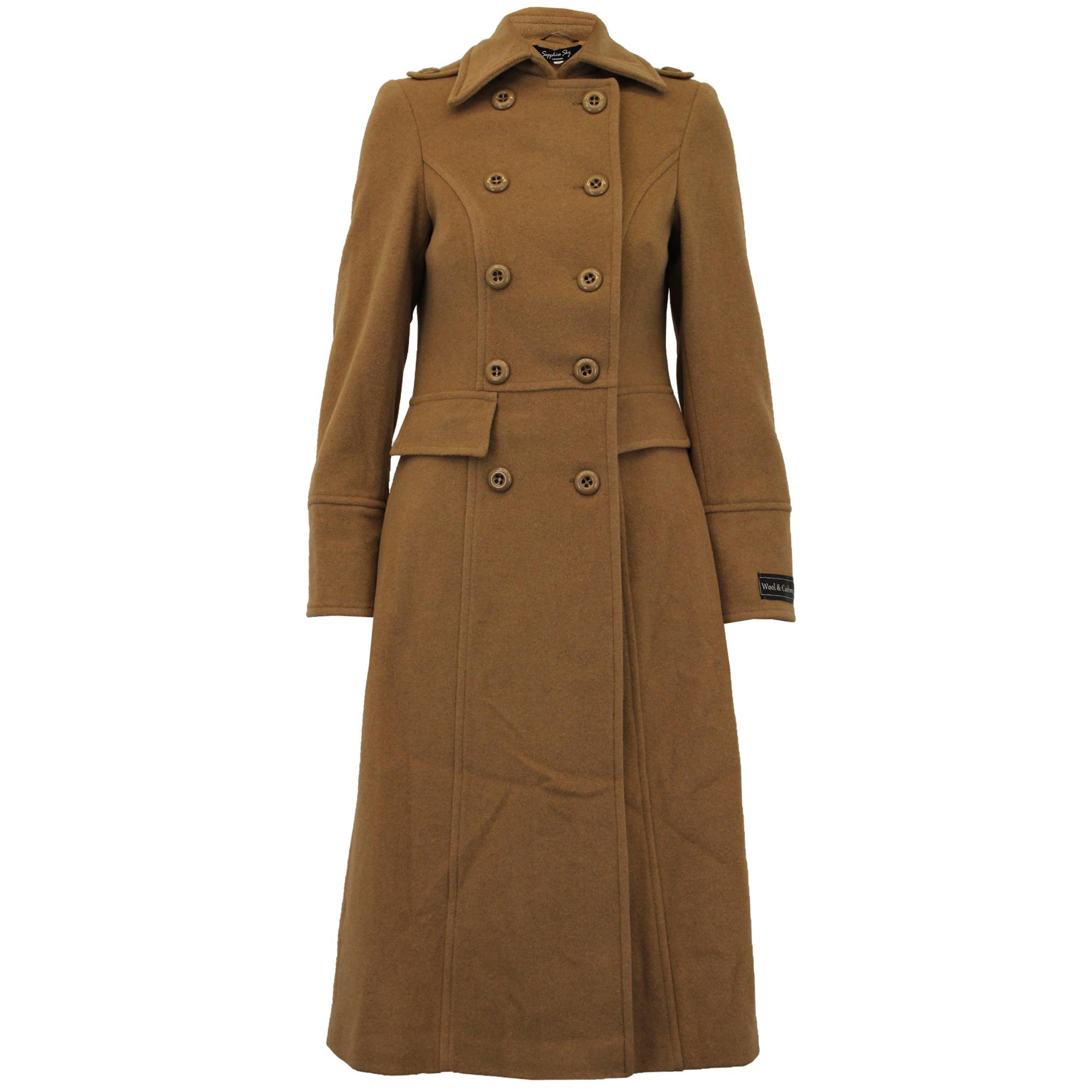 Wool cashmere overcoat