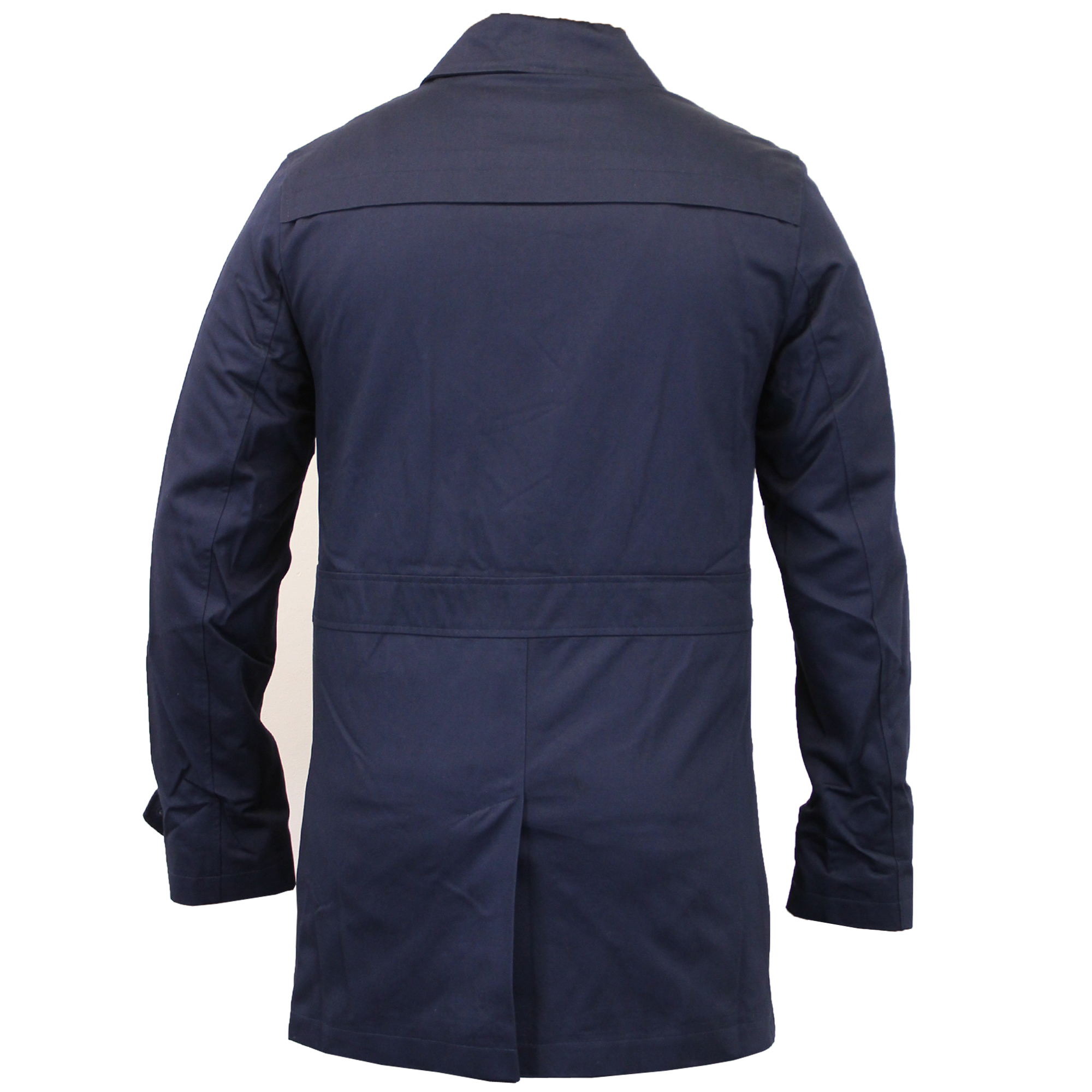 Mens Sherpa Lined Trench Coat Tradingbasis